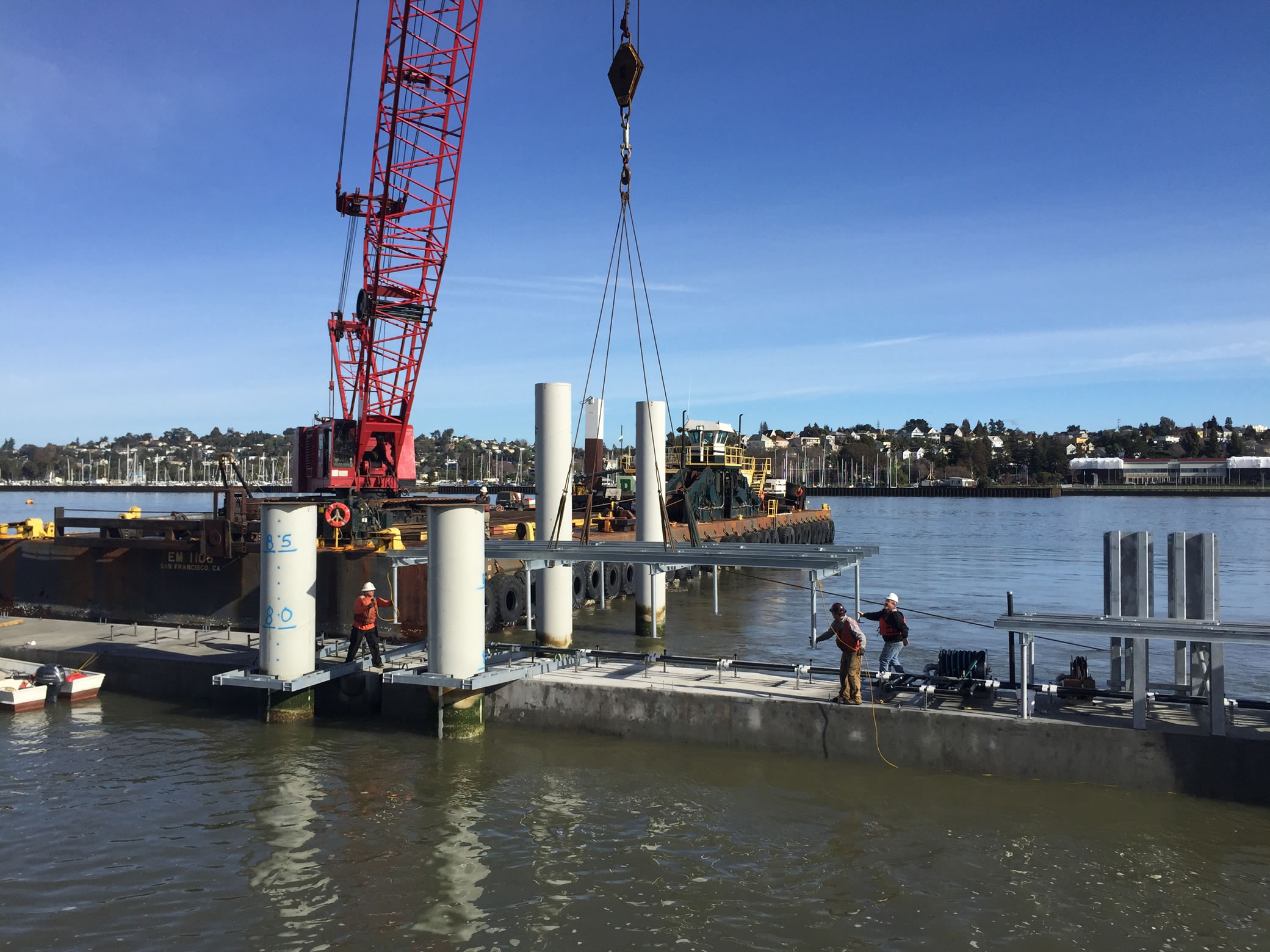 Dutra Group | Marine Construction | North Bay Operations And Maintenance Facility: Waterside Construction And Passenger Float Project
