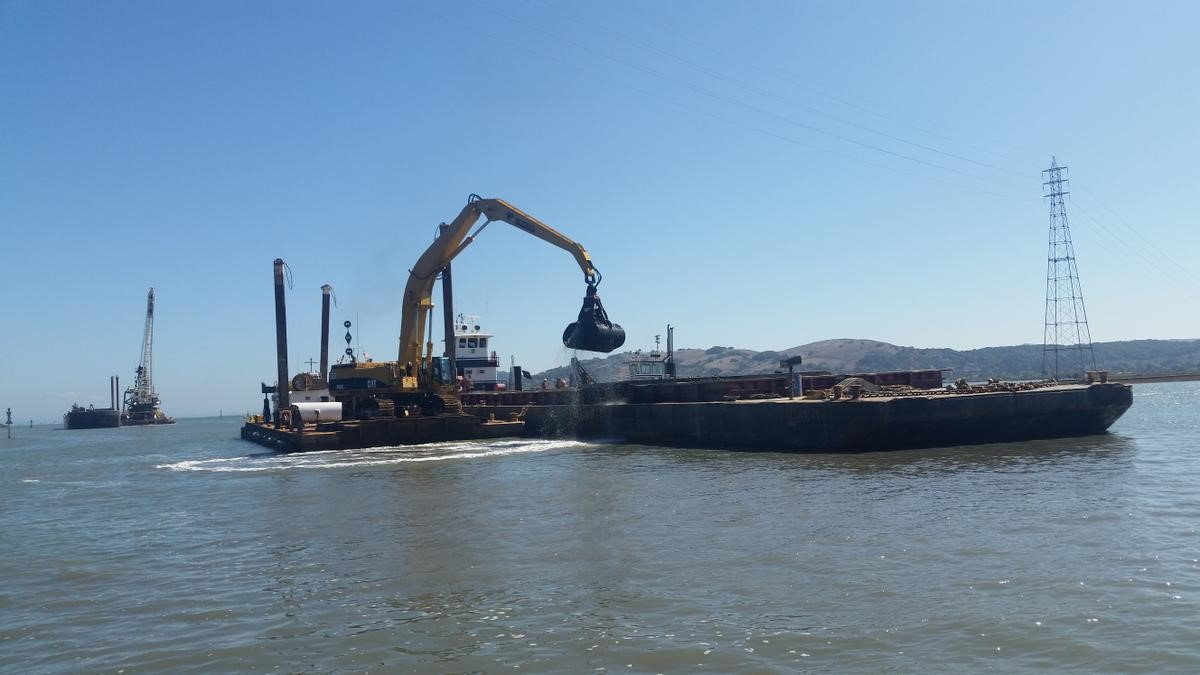 Dutra Group | Dredging | Larkspur Ferry Terminal Berths and Channel Maintenance Dredging