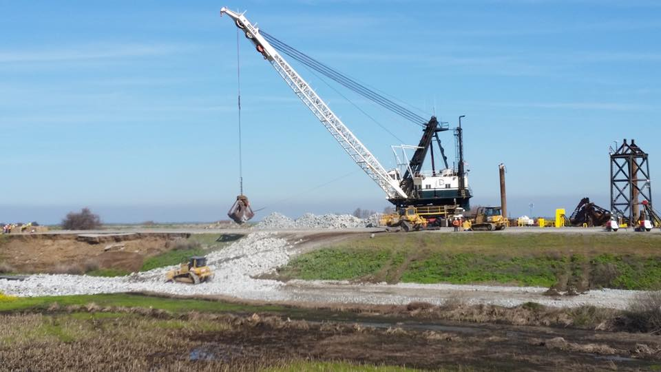 Dutra Group | Delta Division | Tyler Island Emergency Levee Repair