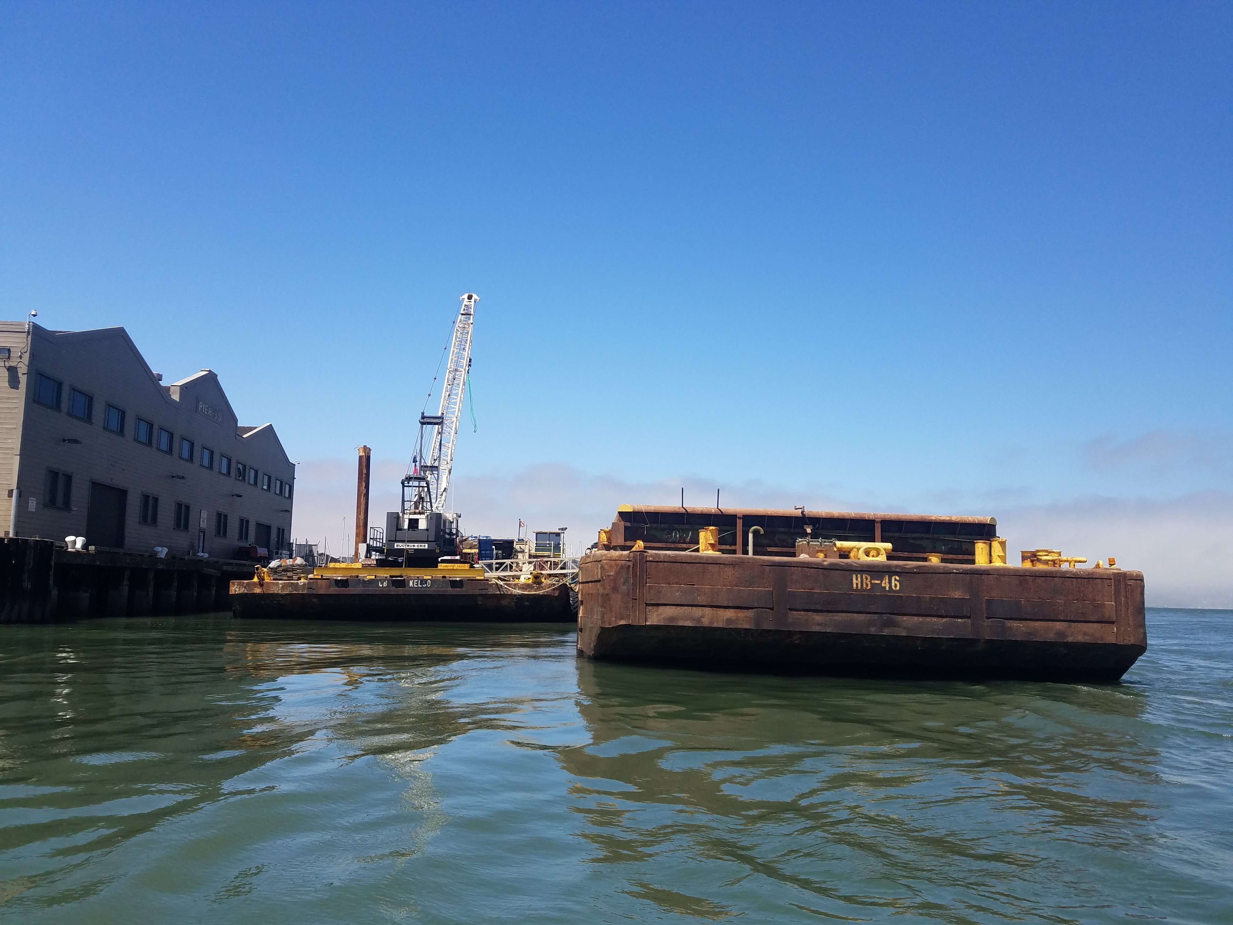 Dutra Group | Marine Construction | North Point Outfall Rehabilitation